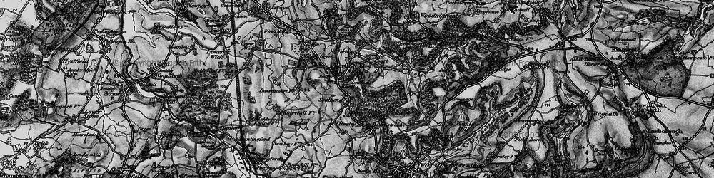 Old map of Westridge Wood in 1897