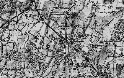 Old map of Southwater in 1895