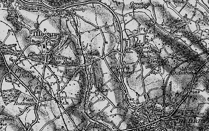Old map of Sparnon Gate in 1896