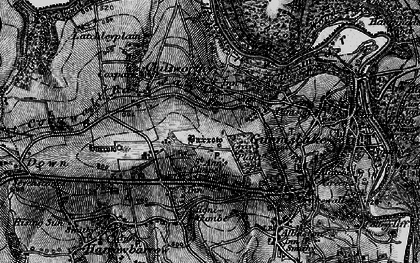 Old map of St Ann's Chapel in 1896