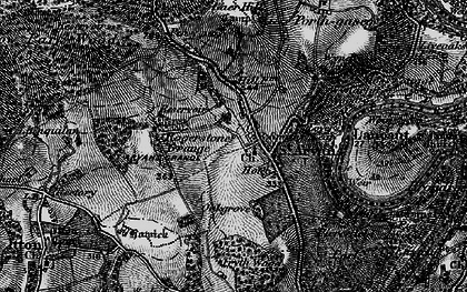 Old map of Wynd Cliff in 1897