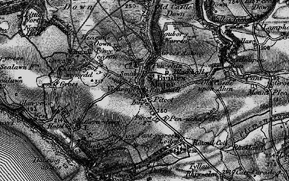 Old map of St Brides Major in 1897