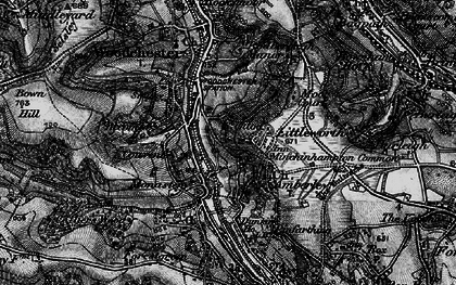 Old map of Atcombe Court in 1897