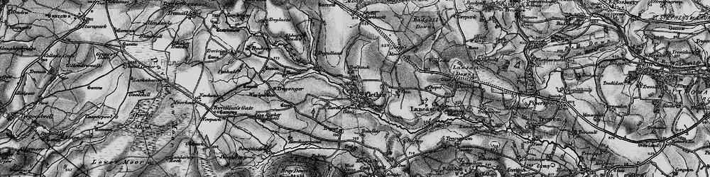 Old map of Woolgarden in 1895