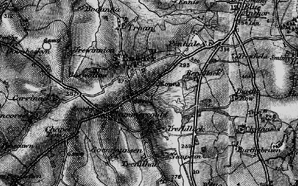 Old map of St Enoder in 1895