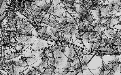 Old map of Tolroy in 1896