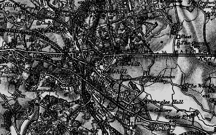 Old map of St George's in 1897