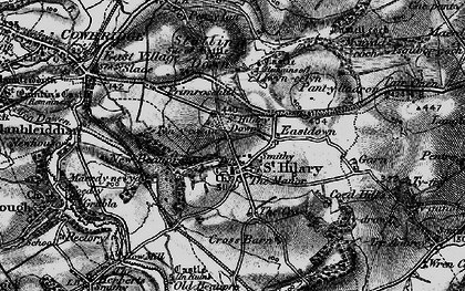 Old map of St Hilary in 1897