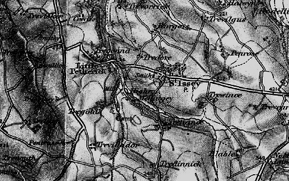 Old map of St Issey in 1895