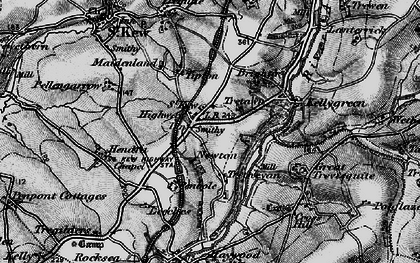 Old map of Leeches in 1895
