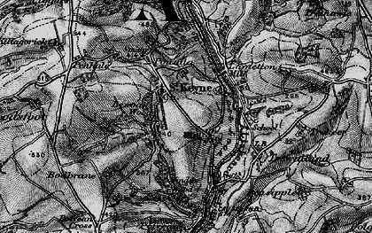 Old map of Windsor Wood in 1896