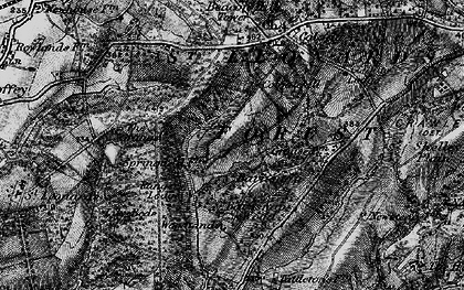 Old map of St Leonard's Forest in 1895