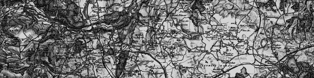 Old map of St Martins in 1897