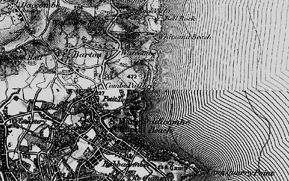 Old map of St Marychurch in 1898