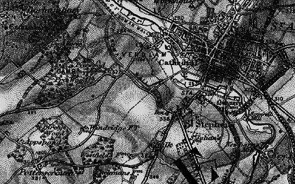 Old map of Abbey Sta in 1896