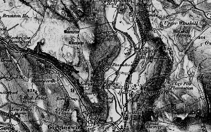 Old map of Stackhouse in 1898