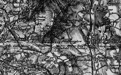 Old map of Thursfield Lodge in 1897