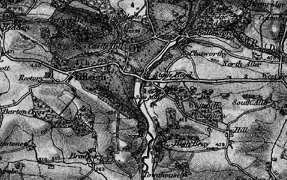 Old map of Woodhouse in 1898