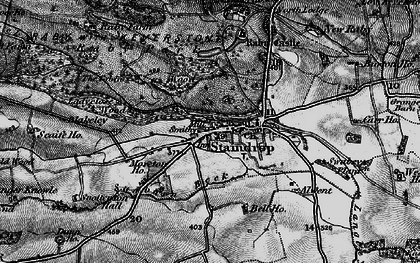 Old map of West Side Ho in 1897