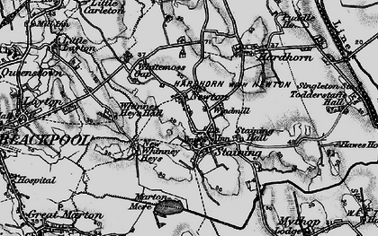 Old map of Staining in 1896