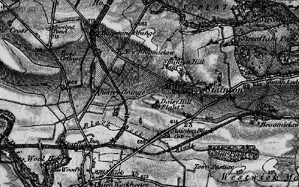 Old map of Westwick Moor in 1897