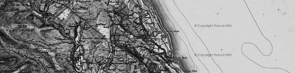 Old map of Staintondale in 1897