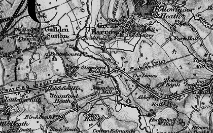 Old map of Limes, The in 1896