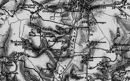 Old map of Stanbrook in 1895