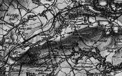 Old map of Stanley in 1898