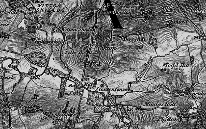 Old map of Stanton in 1897