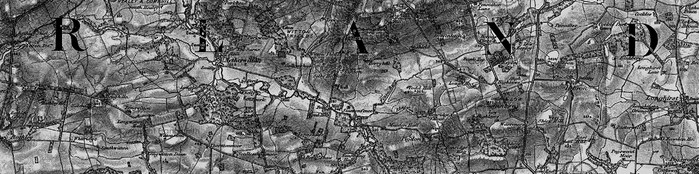 Old map of Witton Shields in 1897