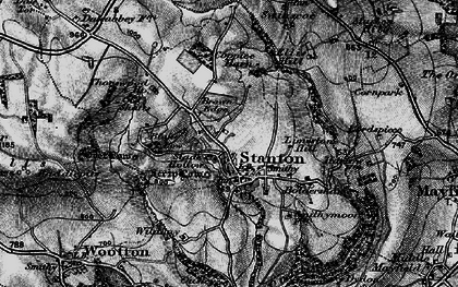 Old map of Limestone Hill in 1897