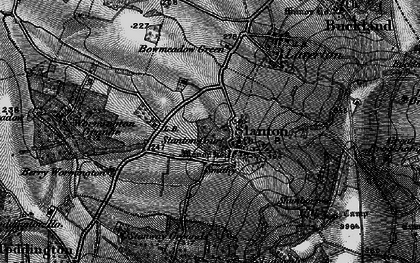 Old map of Stanton in 1898