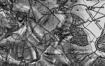 Old map of Ashen Copse in 1895