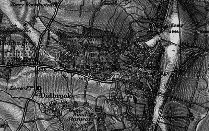 Old map of Lidcombe Hill in 1896