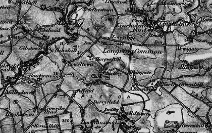 Old map of White Close in 1897