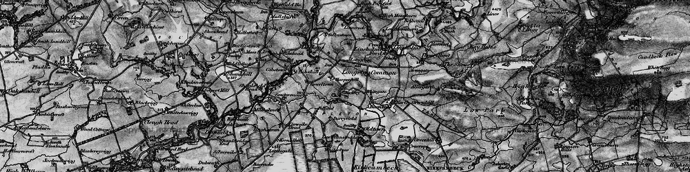 Old map of Allergarth in 1897