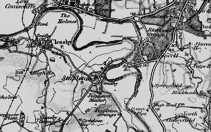Old map of Stapleton in 1897