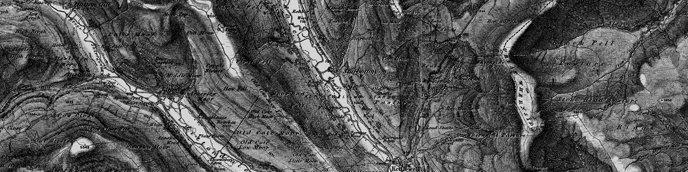 Old map of West Scale Park in 1897