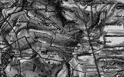 Old map of Tone Hall in 1897
