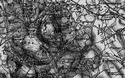 Old map of Stenalees in 1895