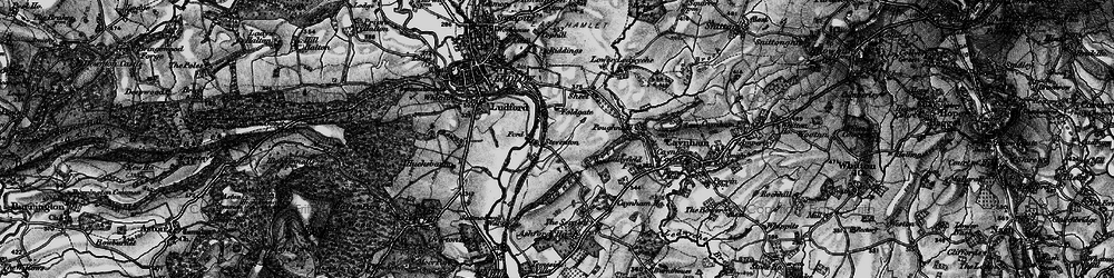 Old map of Tinkers Hill in 1899