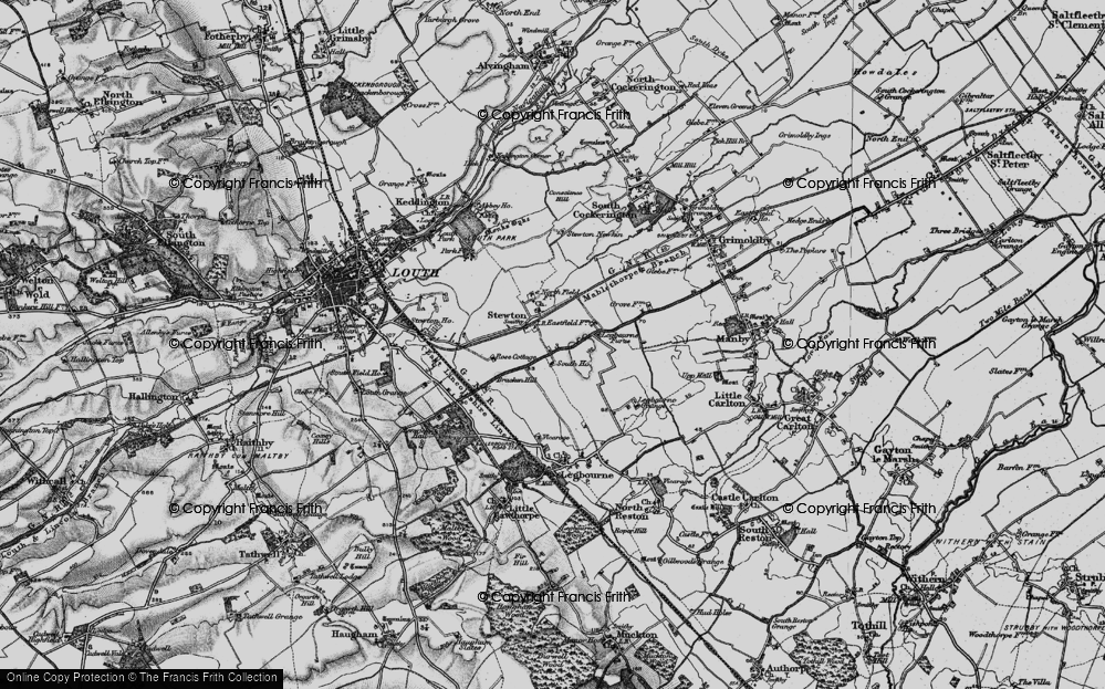 Old Map of Stewton, 1899 in 1899