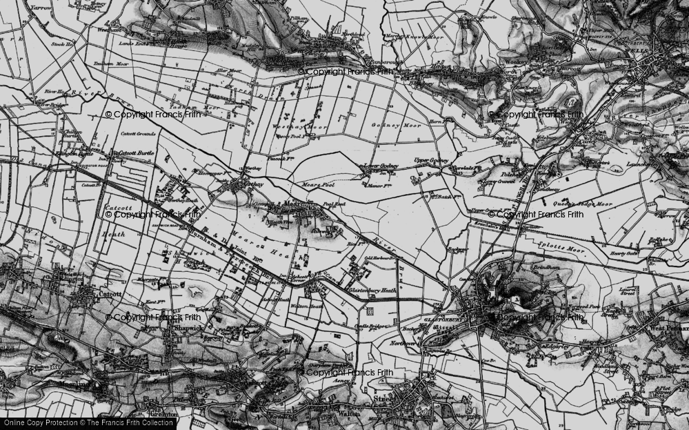 Old Map of Stileway, 1898 in 1898