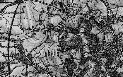 Old map of Stinchcombe in 1897