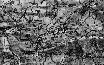 Old map of Stockleigh Pomeroy in 1898
