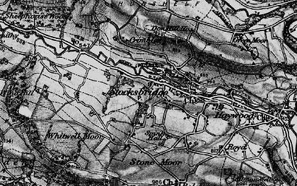 Old map of Whitwell Moor in 1896