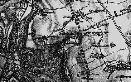 Old map of Leavenhalls, The in 1899