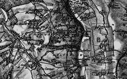 Old map of Wolferlow Park in 1899