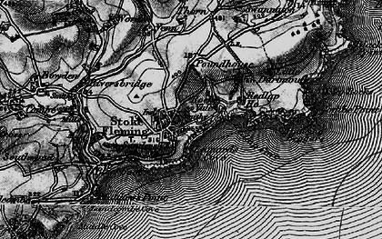 Old map of Leonard's Cove in 1897